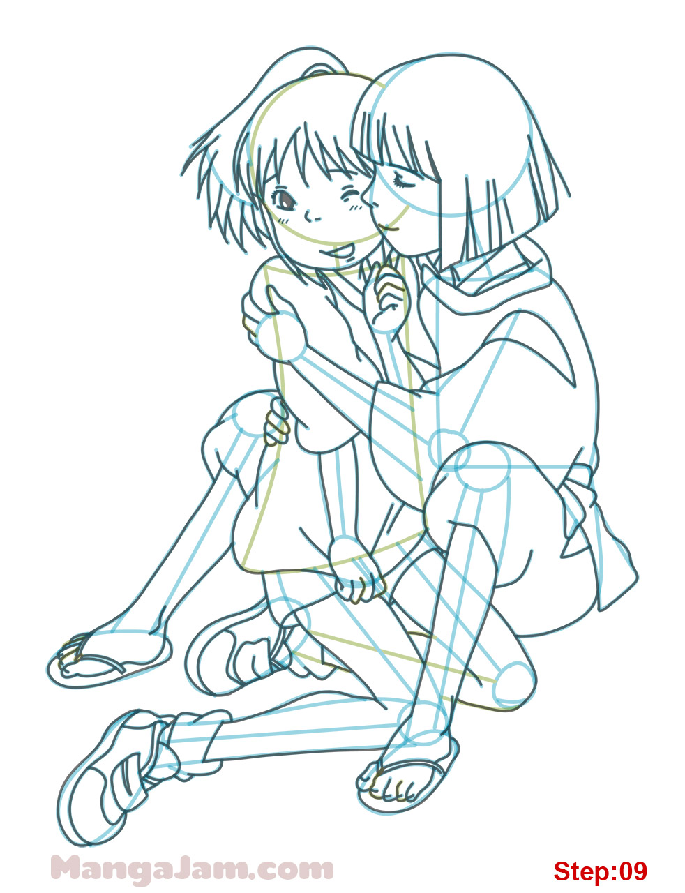 How To Draw Chihiro And Haku From Spirited Away Mangajam Com